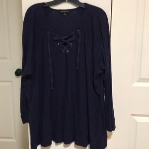 Jersey knit type top